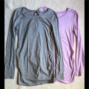 Two Like New Gap Maternity Tops